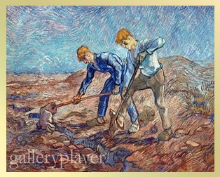 'The Diggers' by Vincent van Gogh